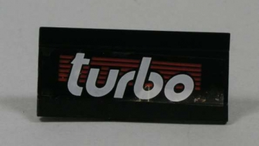 "2440 Spoiler "" Turbo "" in schwarz"