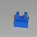 2555 Fliese 1x1x0,33 mit Clip in blau