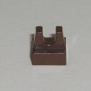 2555 Fliese 1x1x0,33 mit Clip in braun