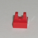 2555  Fliese 1x1x0,33 mit Clip in rot